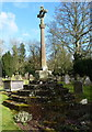 SP2479 : Churchyard Cross in Berkswell by Richard Law
