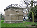 TQ3183 : Victoria Line ventilation shaft, Gibson Square, N1 by Mike Quinn