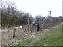 SJ8147 : Footpath junction on Gorsty Bank by Jonathan Hutchins