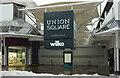 SX9164 : Union Square closed in Torquay by Derek Harper