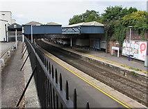 SO9322 : Through Cheltenham Spa Railway Station by Jaggery