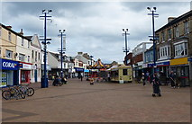 NZ6025 : Redcar High Street East by Mat Fascione
