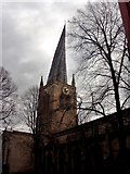 SK3871 : Chesterfield Crooked Spire by norman griffin