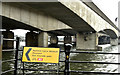 J3474 : National Cycle Route 93 sign, Belfast (March 2018) by Albert Bridge