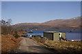 NM7260 : Fish farm, Camas na h-Airbhe by Richard Webb