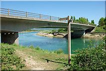 TQ0102 : A259 bridge over Arun by Robin Webster