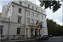TQ2879 : The Belgium Embassy, Belgrave Square by N Chadwick
