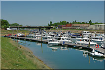 TQ0102 : Littlehampton Marina by Robin Webster
