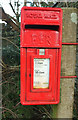 SW9973 : Elizabethan postbox, Bodieve by Derek Harper
