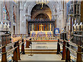 SJ8398 : Manchester Cathedral, Chancel and Altar by David Dixon