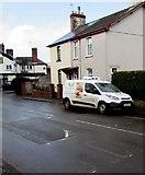 ST3090 : Wiltshire Farm Foods van, Pillmawr Road, Malpas, Newport by Jaggery