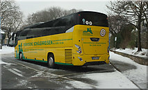 SX9164 : German coach, Torquay coach station by Derek Harper