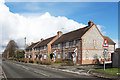 SU8797 : Brick and Flint Houses, Missenden Road by Des Blenkinsopp