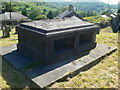 SH7522 : Vaughan Family Vault in Llanfachreth Churchyard by Eirian Evans