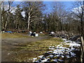 SJ1051 : Tipping near Nantclwyd by Eirian Evans