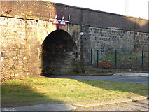NS2875 : Stanners Street railway bridge by Thomas Nugent