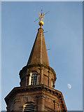 NS2776 : Greenock Mid Kirk spire by Thomas Nugent
