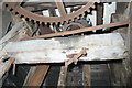 SP9415 : Pitstone Mill - great spur wheel and stone nut by Chris Allen