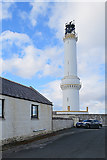 NJ9705 : Girdle Ness Lighthouse by Anne Burgess
