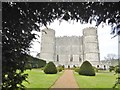 SY8582 : Lulworth Castle by Mike Faherty