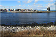 NJ9505 : Footdee from Torry by Anne Burgess