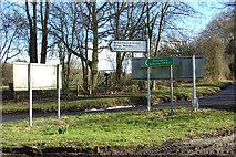 TL1320 : Roadsigns on Chiltern Green Road by Adrian Cable