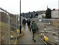 SE2932 : Footpath in post-industrial Holbeck by Alan Murray-Rust
