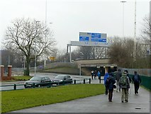 SE2932 : M621 at Holbeck Moor by Alan Murray-Rust