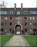 TL4458 : Symmetry at St John's College, Cambridge by Richard Humphrey