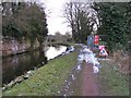 SO8581 : Towpath Repairs by Gordon Griffiths