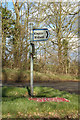 TL1521 : Signpost on Baileys Lane by Adrian Cable