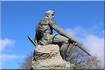 NX6851 : Top of the War Memorial, Kirkcudbright by Billy McCrorie