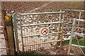 ST6468 : Rather wet footpath, Stockwood Vale by Derek Harper