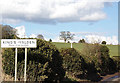 TL1523 : King s Walden Village Name sign on Church Road by Adrian Cable