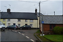 SY0087 : Cottages, Church Stile Lane by N Chadwick