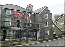 SX5973 : The Plume of Feathers, Princetown by Eirian Evans
