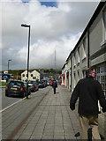 SX5973 : Tavistock Road, Princetown by Eirian Evans