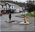 SO2603 : Pedestrian refuge, Union Street, Abersychan by Jaggery