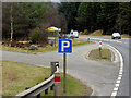 NH7930 : Southbound A9, Bus Stop and Layby 160 by David Dixon