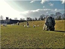 SU1070 : Avebury henge [7] by Michael Dibb