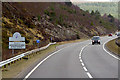 NH8425 : Southbound A9 Layby 151, Badenoch and Strathspey by David Dixon