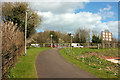 SX8866 : Shared path at Edginswell by Derek Harper