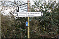 TL1824 : Signpost on Hitchwood Lane by Adrian Cable