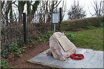 SX8960 : Lt. Commander Arthur Leyland Harris VC Memorial by N Chadwick