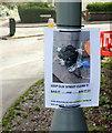 SX9065 : Notice on Cricketfield Road, Torquay by Derek Harper