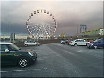 TQ2387 : Ferris wheel at Brent Cross Shopping Centre by David Howard