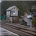 SD9926 : Hebden Bridge signal box by Ian Taylor