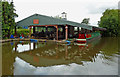 SK2801 : Boatyard at Grendon Dock, Warwickshire by Roger  Kidd