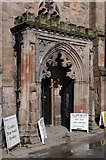 SO5040 : Porch entrance All Saints' Church by Philip Halling