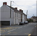 SN4401 : Row of houses, Stepney Road, Burry Port by Jaggery